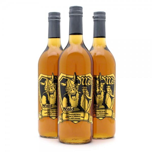 Met Waldhonig - Premium Honigwein aus sortenreinem Honig - 3 Flaschen Vorteilspaket