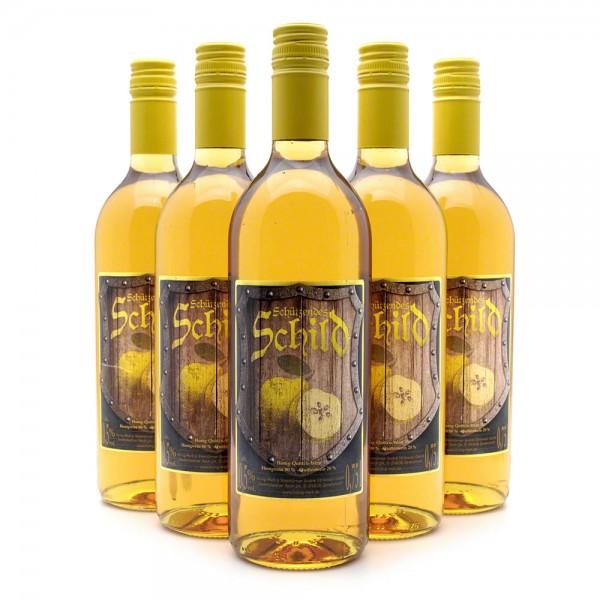 Met Schützendes Schild - Honigwein mit 20% Quittenwein - 6 Flaschen Vorteilspaket