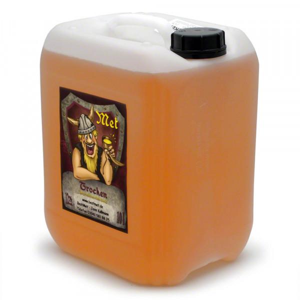 Trockener Honigwein - Honig-Met feinherb - 10 Liter Kanister