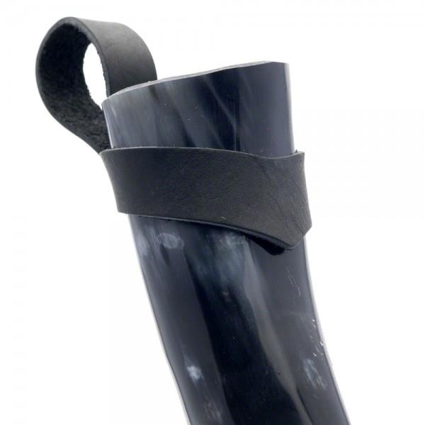 Trinkhorn Gürtelhalter - für Methorn von 200 bis 300 ml - am Horn
