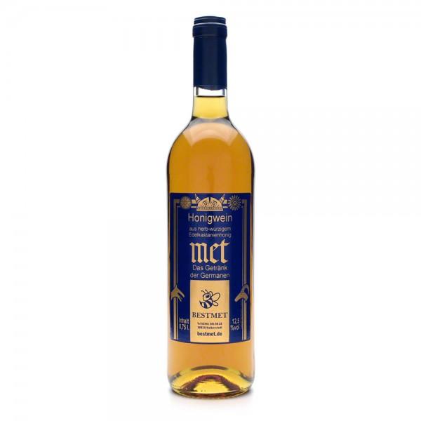 Met Edelkastanie - Premium Honigwein aus sortenreinem Honig - Naturkorken