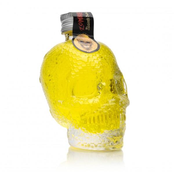 Honiglikör - Zombie's Absinth Honey - Marula - Totenkopfflasche 50 ml