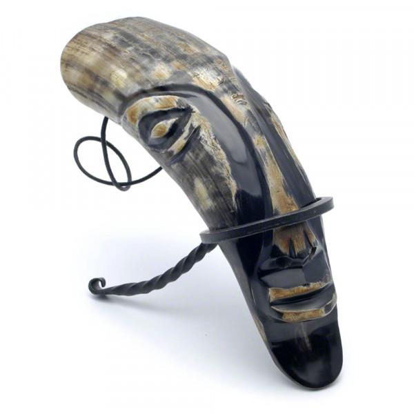 Trinkhorn - Premium Maske, mit Ständer - 0,3 Liter - Vorschau