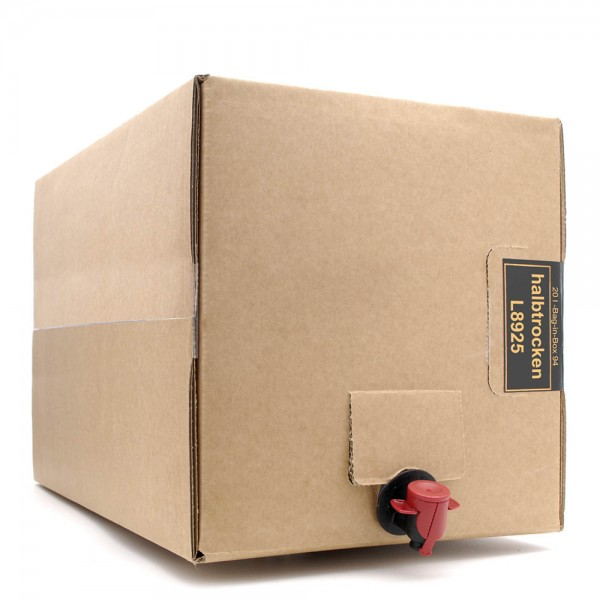 Met Wald & Blütenhonig - Honigwein halbtrocken - 14% Vol. alc - 20 Liter Bag in Box Weinkarton