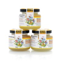 Honig Probierpaket - Imkerhonig aus dem Harz - 3 x 125 g