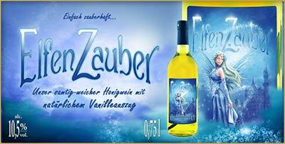 Elfen Zauber, Vanille-Honig-Wein, Met, Honigwein, Honigmet, Gewürz Met, Gewürz Wein