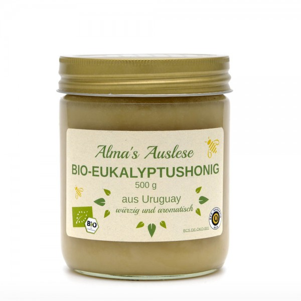 Honig - BIO Eukalyptushonig - Fairtrade - 500g Glas