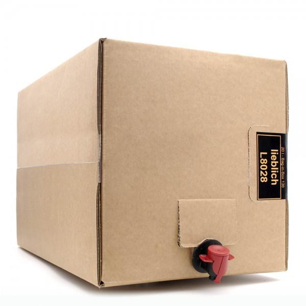 Met Wald & Blütenhonig - Honigwein lieblich - 12% Vol. alc - 20 Liter Bag in Box Weinkarton