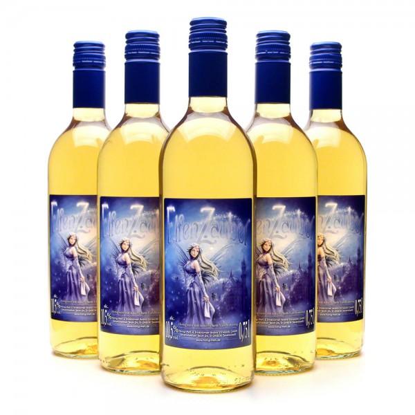Elfenzauber Honigwein - Met mit Vanille - Gewürzmet - 6 Flaschen Vorteilspaket