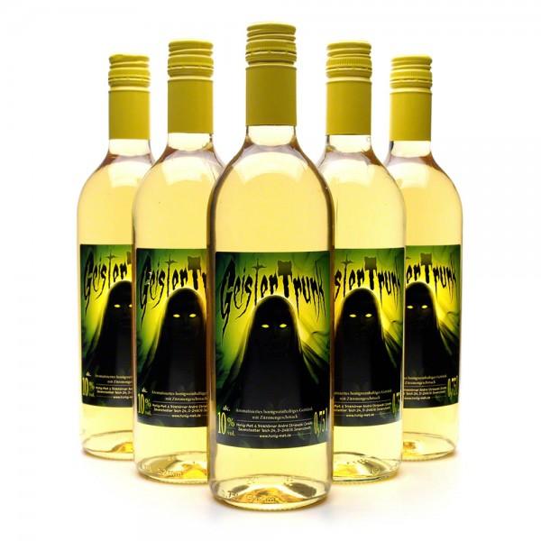 Met Geistertrunk - Honigwein mit Zitrone - 6 Flaschen Vorteilspaket