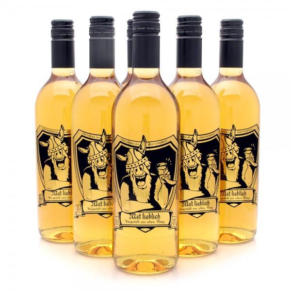 Met lieblich - Honigwein süß - 6 Flaschen