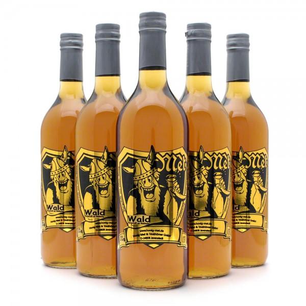 Met Waldhonig - Premium Honigwein aus sortenreinem Honig - 6 Flaschen Vorteilspaket