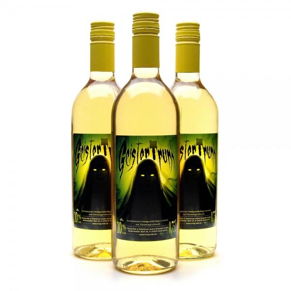 Met Geistertrunk - Honigwein mit Zitrone - 3 Flaschen Vorteilspaket