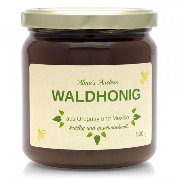 Apimiel - Honig - Waldhonig - 500g Glas