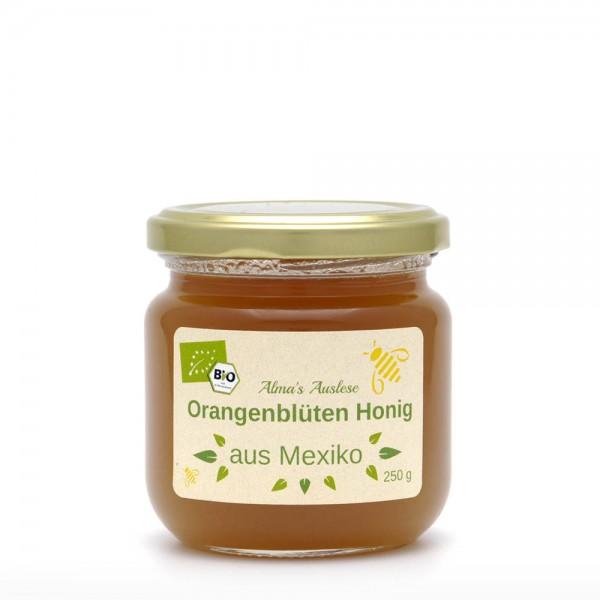 Honig - BIO Orangenblütenhonig -- Fairtrade - 250g Glas