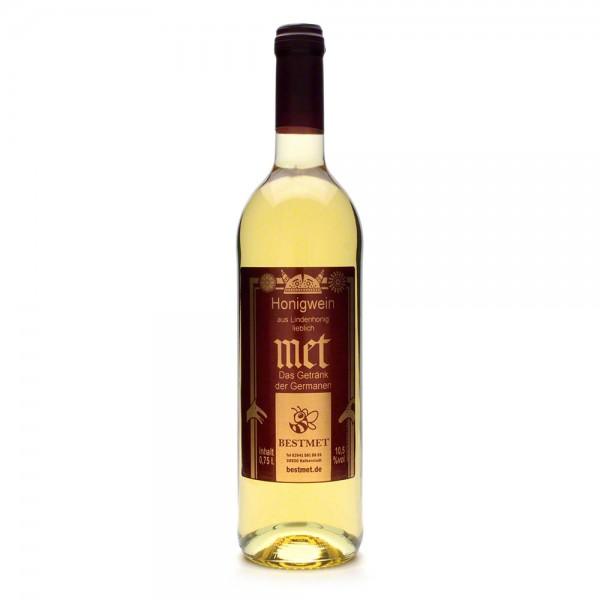 Met Linde - Premium Honigwein aus sortenreinem Lindenhonig - Naturkorken