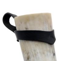 Trinkhorn Gürtelhalter - für Methorn von 700 bis 1.500 ml - am Horn