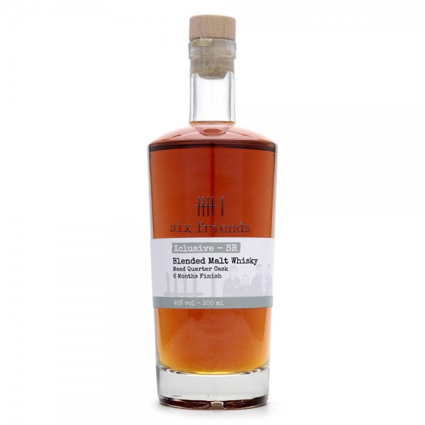 Six Friends - Blendet Malt Whisky - 45 % Vol - 0,5 Liter