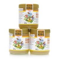 Honig Vorteilspaket - Imkerhonig aus dem Harz - 3 x 500 g