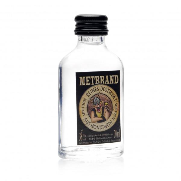 Honigschnaps - Metbrand - Destillat 38% Vol. alc - 20 ml