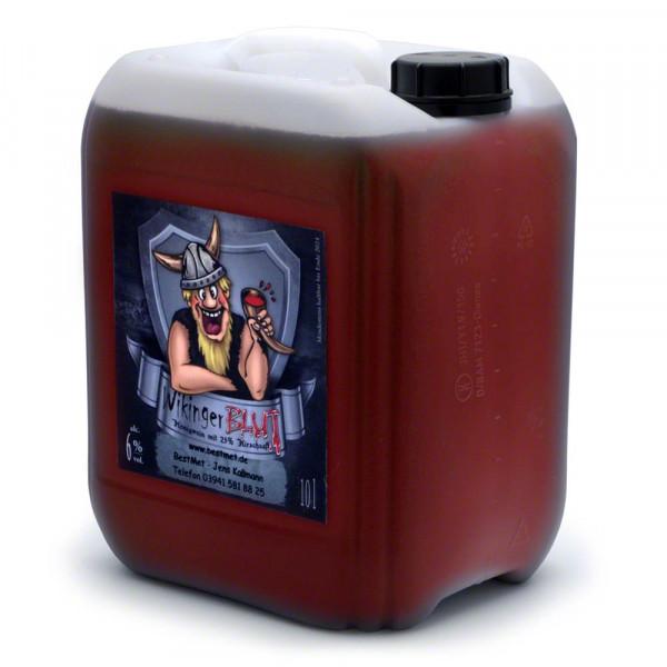 Wikingerblut Honigwein - Kirsch Frucht-Met - 10 Liter Kanister