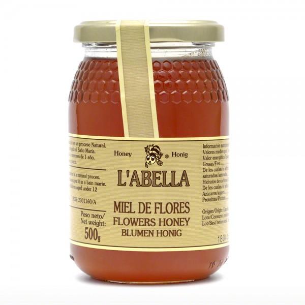Honig Flores- spanischer Blütenhonig - 500 g - Spanien