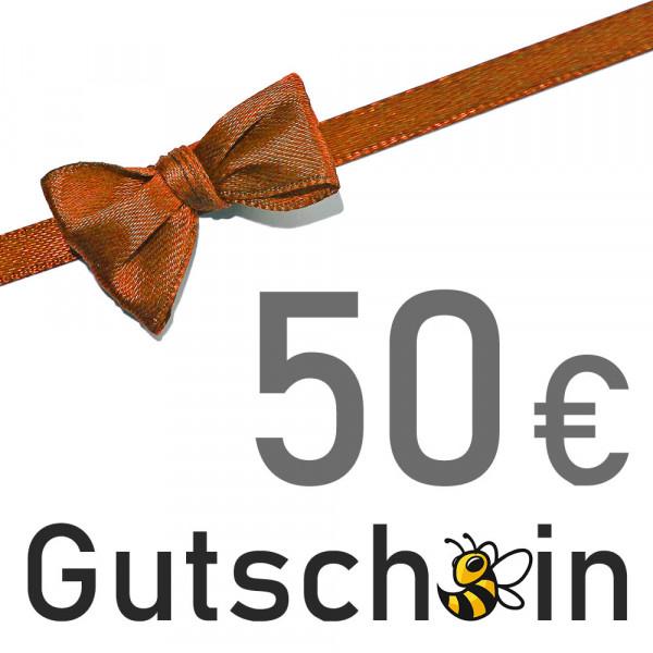 Geschenkgutschein - 50 € - Versand per E-Mail