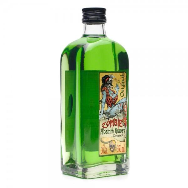 Absinth Original - Zombie's Absinth Honey - Honiglikör 350 ml - Front Seite