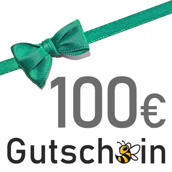 Geschenkgutschein - 100 € - Versand per E-Mail
