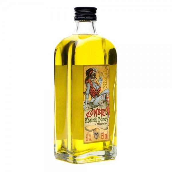 Absinth Marula - Zombie's Absinth Honey - Honiglikör 350 ml - Front Seite