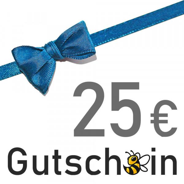 Geschenkgutschein - 25 € - Versand per E-Mail
