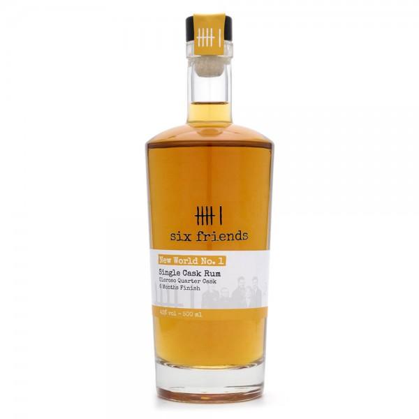 Rum - Six Friends - Single Cask Rum - 43 % Vol - 500 ml