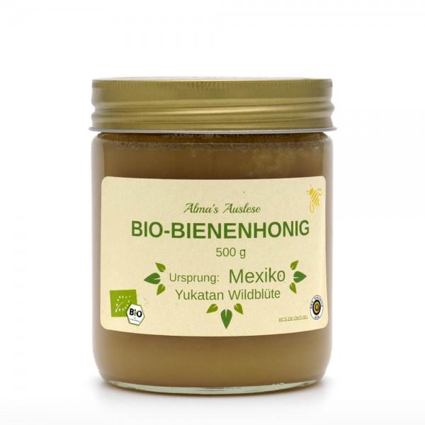 Honig - BIO Bienenhonig - Fairtrade - 500g Glas