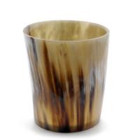 Windlicht - aus echtem Horn, für 1 Teelicht - 8 cm - Vorschau