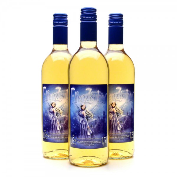 Elfenzauber Honigwein - Met mit Vanille - Gewürzmet - 3 Flaschen Vorteilspaket