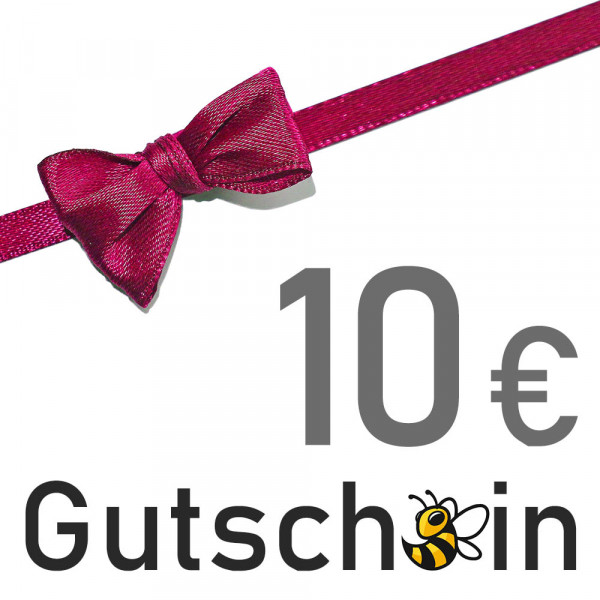 Geschenkgutschein - 10 € - Versand per E-Mail